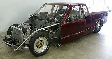 Why Did We Start the Project with an S10 Pro Stock Truck Body Chassis?