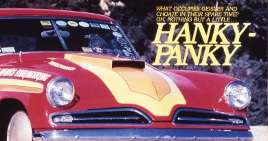Fifty-six Years of Hanky Panky