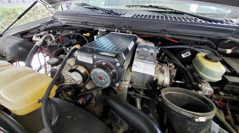 Dan Benetez - Supercharged 6.8 liter V10 Excursion