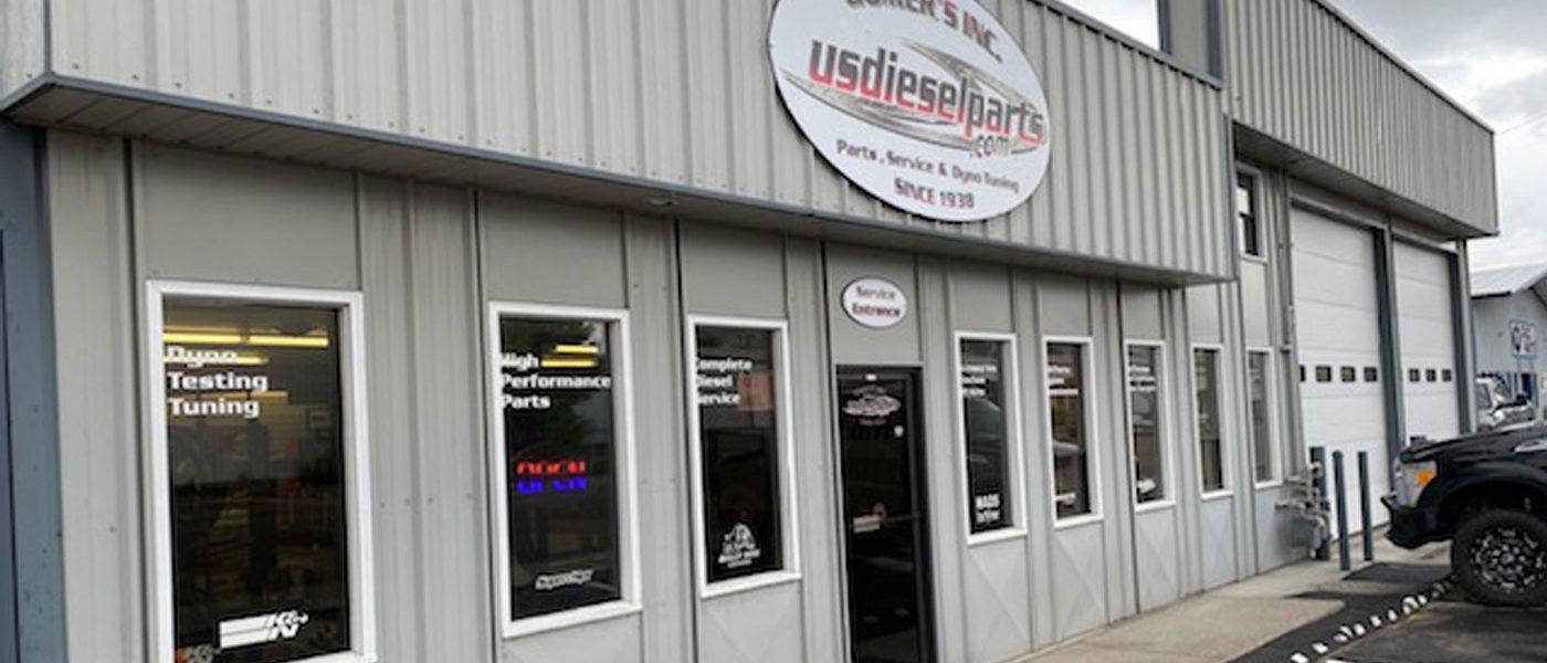Gomer's Diesel Inc. Exterior