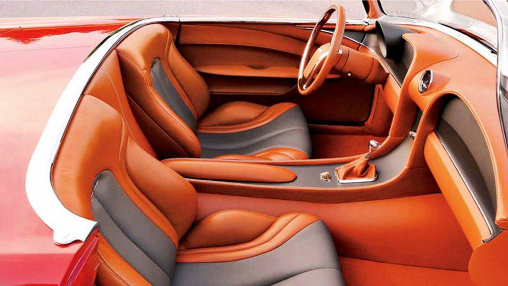 2012 Ridler-Winning '55 Thunderbird Interior
