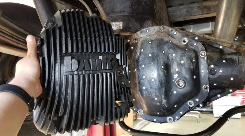 Dana 80 Ram-Air Diff Cover
